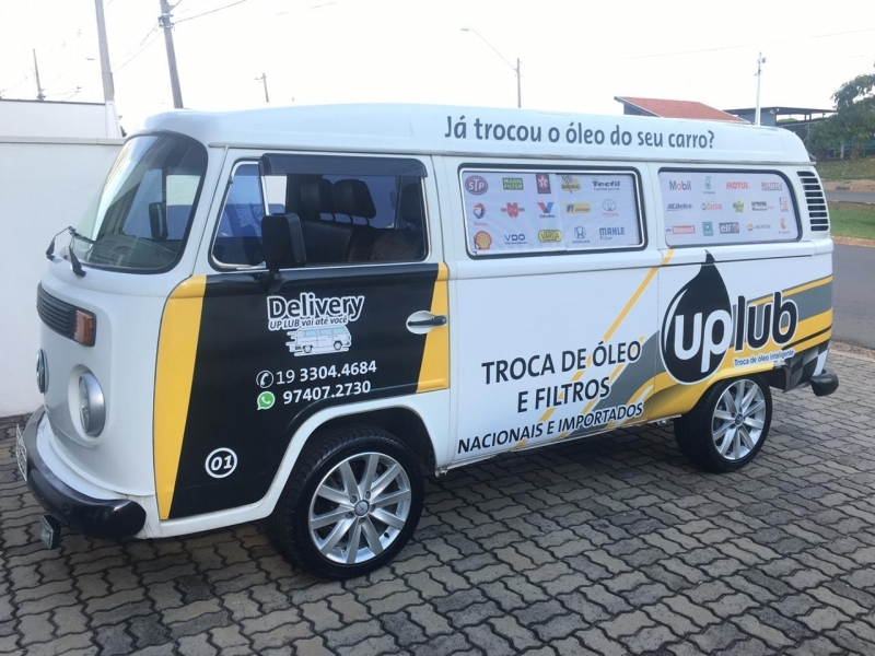 Envelopamento Automotivo Padronização de Frota Avaré - Envelopamento Automotivo Interno