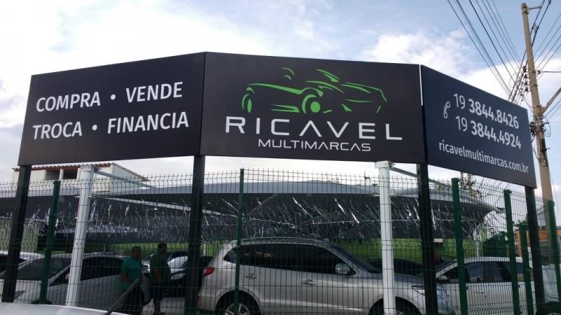 Fachada com Impressão Digital Lençóis Paulista - Fachada em Acm