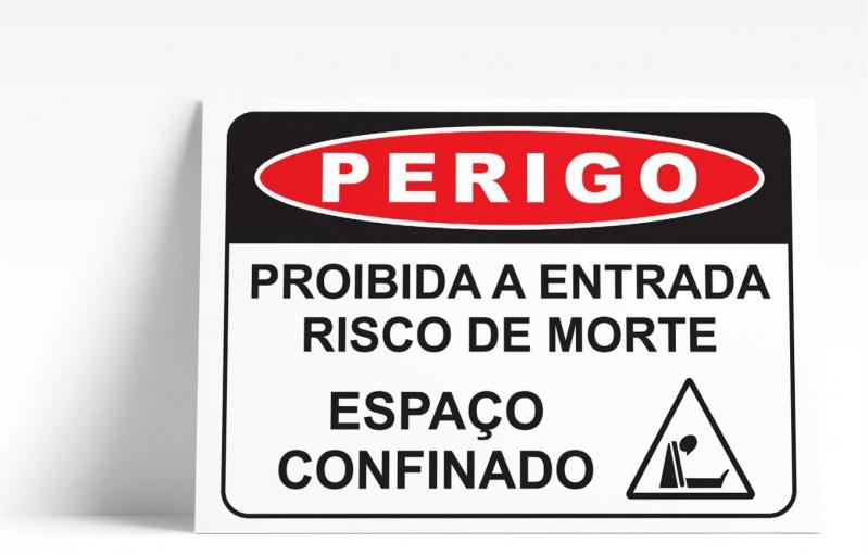 Placa de Sinalização de Rua Valor São José do Rio Preto - Placa de Sinalização de Trânsito