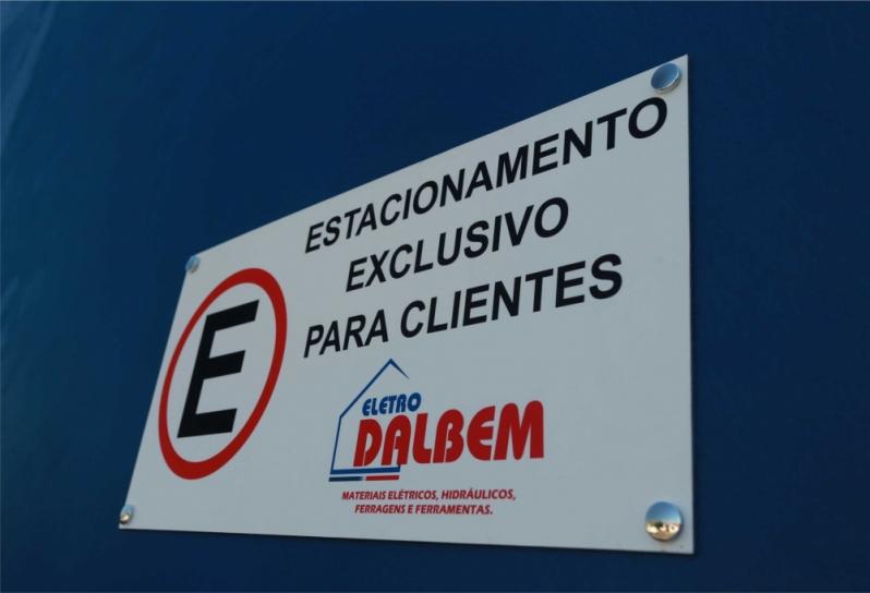 Placa de Sinalização de Trânsito Preços Litoral Paulista - Placa Sinalização de Trânsito