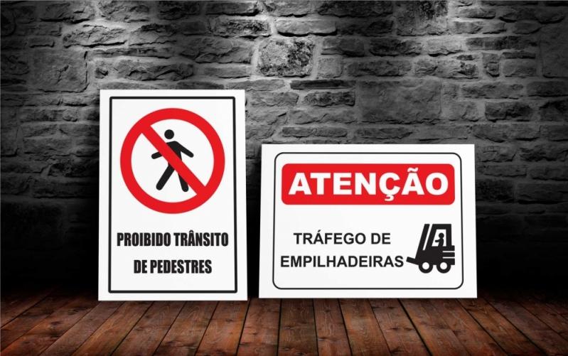 Sinalização de Segurança Preço Embu Guaçú - Sinalização Preventiva