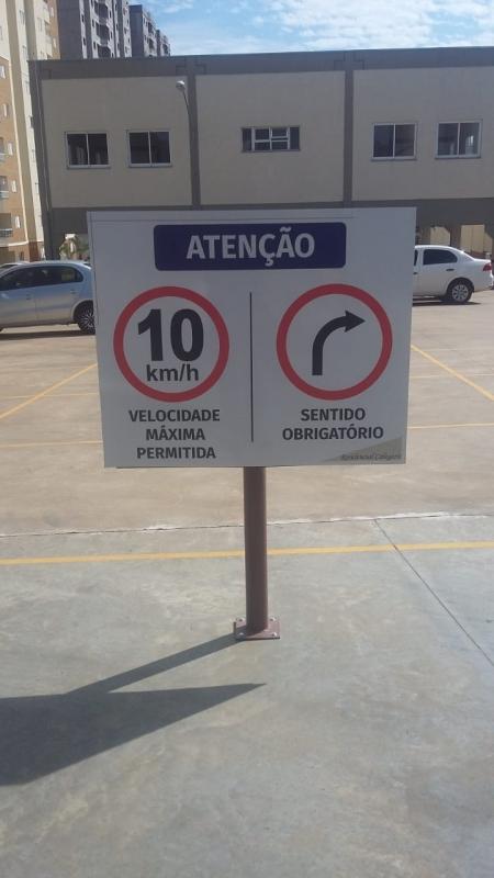 Sinalização de Veículo Preço Cosmópolis - Sinalização Preventiva