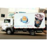 adesivo caminhão baú Araçatuba