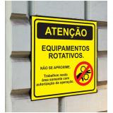 comprar sinalização rodoviária placa de trânsito Porto Ferreira