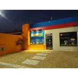 comunicações para fachada de empresa Biritiba Mirim