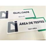 cotação de placa de sinalização de obra Ribeirão Pires