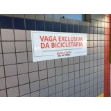 cotação de placa de sinalização de trânsito Paulínia
