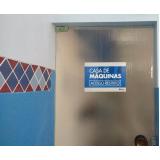 cotação de placa de sinalização embarque e desembarque Guarujá
