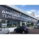 fachada em lona São Bernardo do Campo