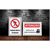 placa sinalização trânsito Rio Claro