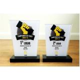preço do troféu personalizado dominó Votorantim