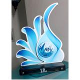 preço do troféu personalizado futebol Ilhabela