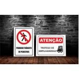 sinalização de segurança preço litoral paulista