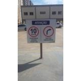 sinalização de veículo preço Alphaville Industrial