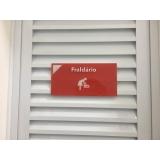 sinalização para condomínio preço Osasco