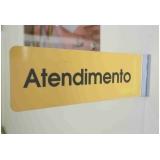 sinalização para escritório preço São Vicente