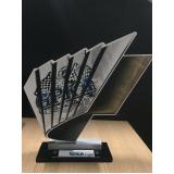 troféu personalizado para eventos esportivos preço Cubatão