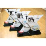 troféu personalizado para eventos esportivos Mirassol