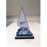 troféu poker personalizado