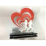 troféu taça personalizado valor Paulínia